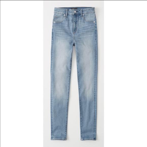 Abercrombie & Fitch Denim - Abercrombie & Fitch High Rise Super Skinny Jeans
